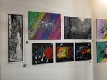 Exposition d'artistes peintres
