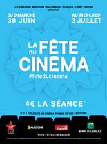 La Fête du cinéma - 4€ la séance