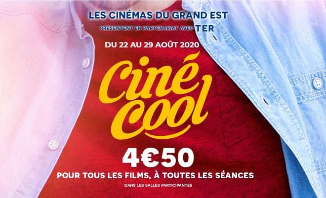 Ciné Cool - du samedi 22 au samedi 29 août 2020