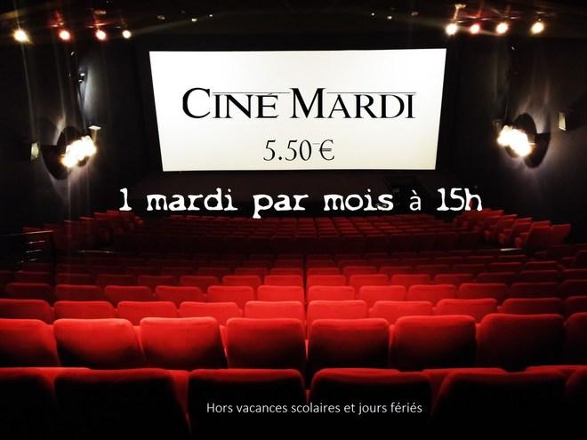 Le Ciné Mardi !