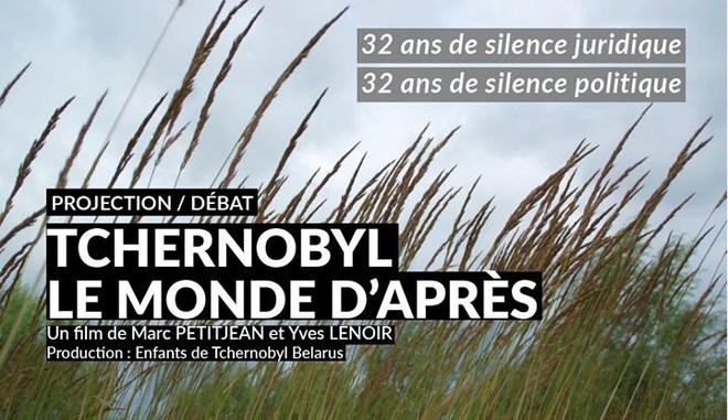 """Rencontre - débat """"Tchernobyl, le monde d'après"""""""
