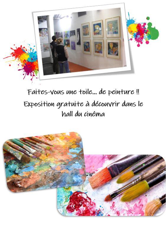 Exposition de peintures - Vacances de la Toussaint